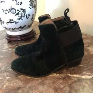 hm • genuine suede chelsea boots